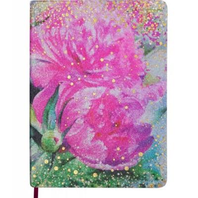 Ежедневник датированный Buromax Cherie A5 на 336 страниц Розовый