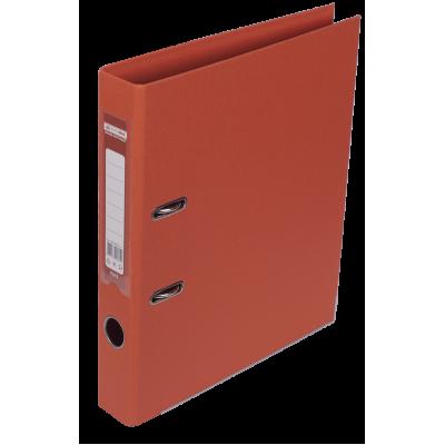 Папка регистратор ELITE двусторонняя A4, 50 мм, красная