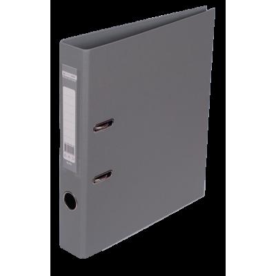 Папка регистратор ELITE двусторонняя A4, 50 мм, серая