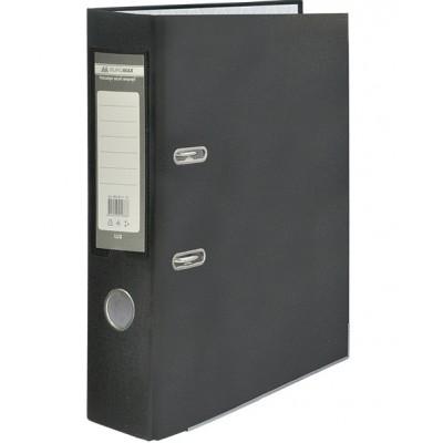 Папка регистратор LUX односторонняя JOBMAX A4, 70 мм, черная