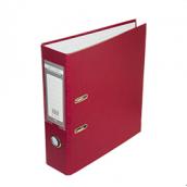Папка регистратор LUX односторонняя JOBMAX A4, 70 мм, бордо