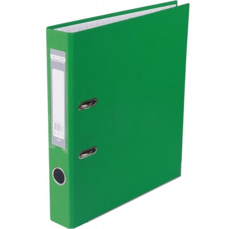 Оптовый Набор: Папка регистратор LUX односторонняя JOBMAX A4, 50 мм, зеленый, 10 шт. + Календарь