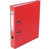 Папка регистратор LUX односторонняя JOBMAX A4, 70 мм, красная
