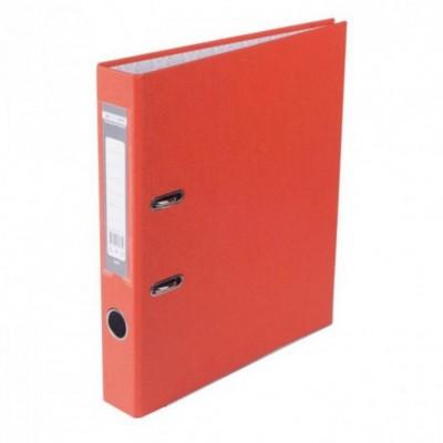 Папка регистратор LUX односторонняя JOBMAX A4, 50 мм, апельсин