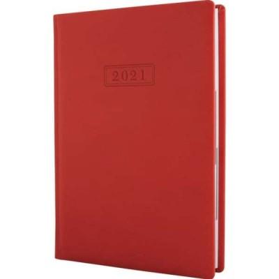 Ежедневник Optima Vivella А5 датированный 352 страницы Оранжевый