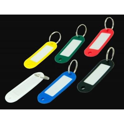 Брелок пластиковый для ключей, ассорти