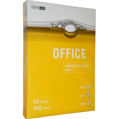 Бумага А3 Smart Line OFFICE 80 гр/м2 500 л
