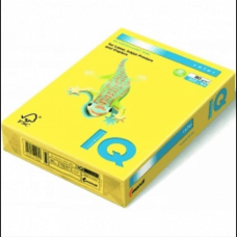Бумага А4 IQ Color CY39 желтый
