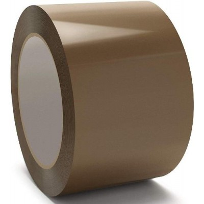 Лента клейкая 48 * 200 коричневая