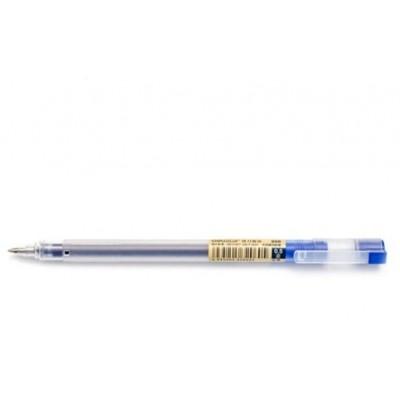Ручка гелевая Deli 808S черн 0,5mm. полупрозрачный корпус