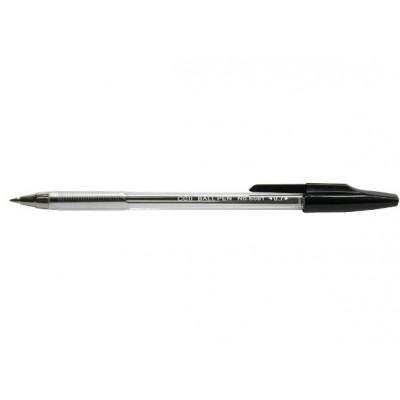 Ручка шариковая Deli 6561 черная прозр.0,7mm