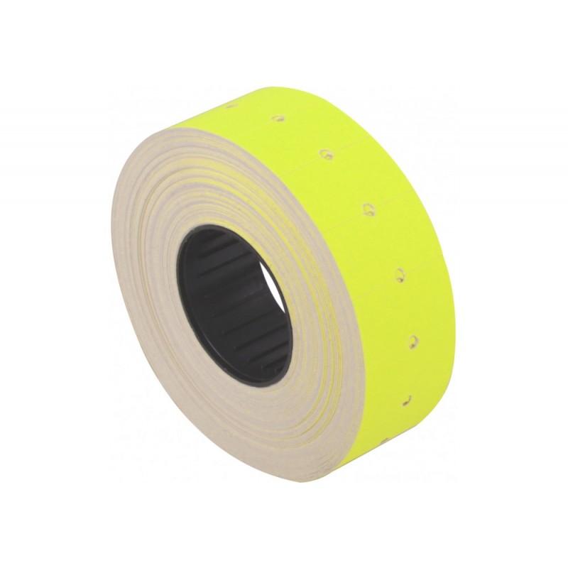 Этикетки-ценники 21х12 мм Economix, 1000 шт/рул., желт