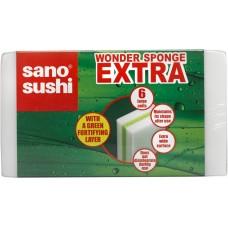 Губка Sano с дополнительным слоем