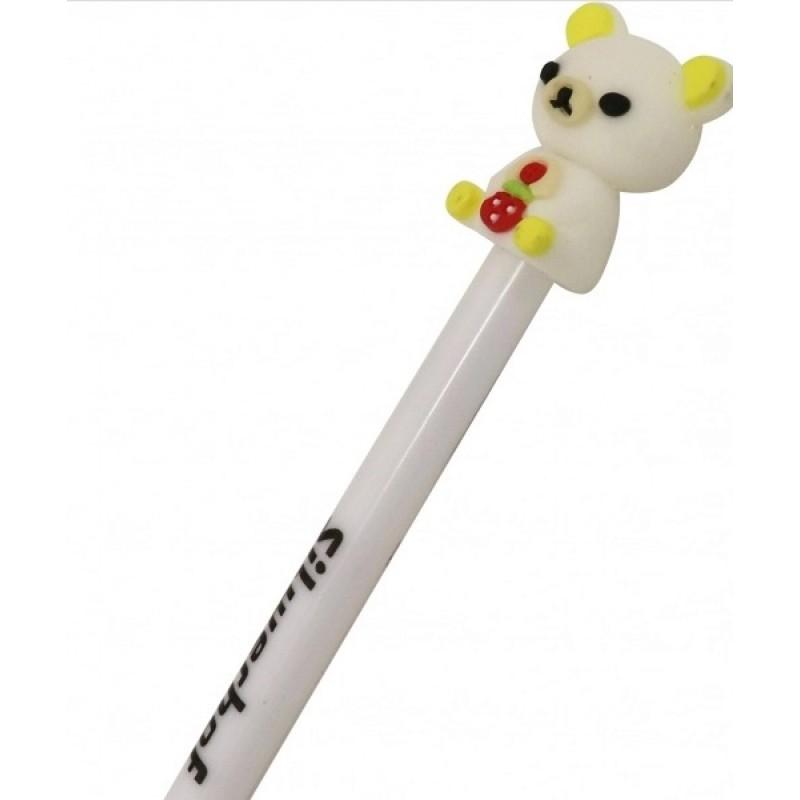 Ручка шариковая гелевая «Sweet Bear», пишет синим, ассорти