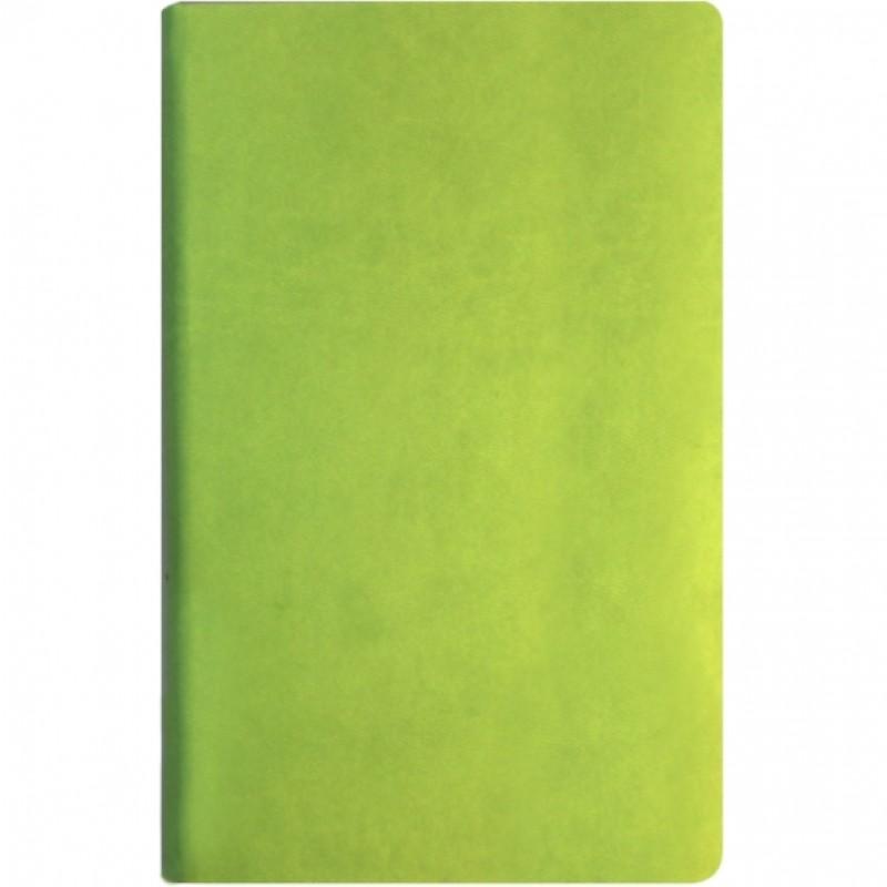Деловая записная книжка А5, твердый переплет, белый нелинованные блок, фисташковая