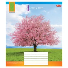 "Тетради 48 листов / 3118 ""Одинокое дерево"" (клетка)"