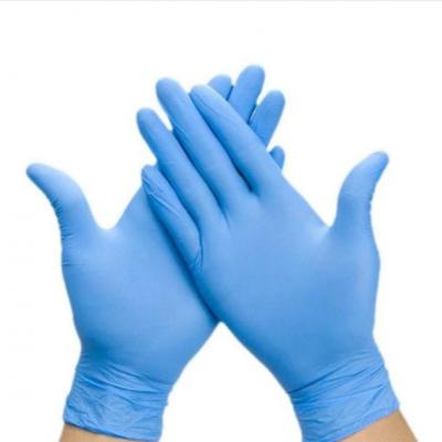 Рукавички медичні латекс М / 100/7% Sanitary Care / 10 ящ /