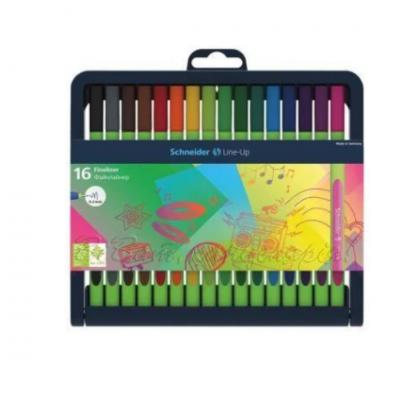 Набор разноцветных лайнеров Schneider LINE-UP, 16 цветов