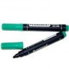 Маркер перманентный Deli 6881 зеленый 1-5мм клиновидный