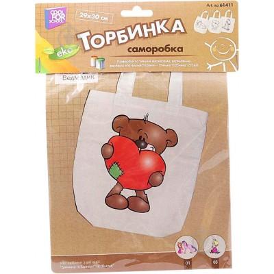 """Набор для творчества """"Раскрась сумку. Медвежонок"""", Cool of school Украина"""