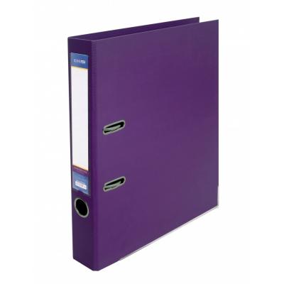 Папка регистратор А4 LUX Economix, 50 мм, фиолетовая E39722*-12