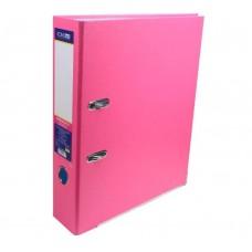 Папка регистратор А4, 70 мм Economix, розовая