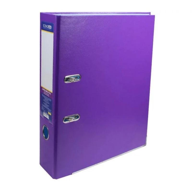 Папка регистратор А4 70 мм Economix, фиолетовая