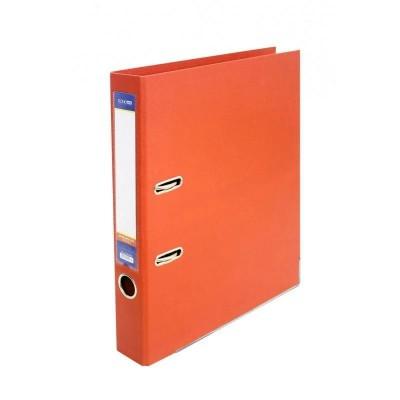 Папка регистратор А4 50 мм Люкс Economix, оранжевая