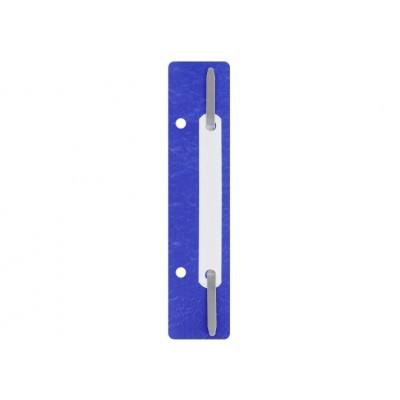Мини скоросшиватель ТМ Economix (по 20 шт), синий
