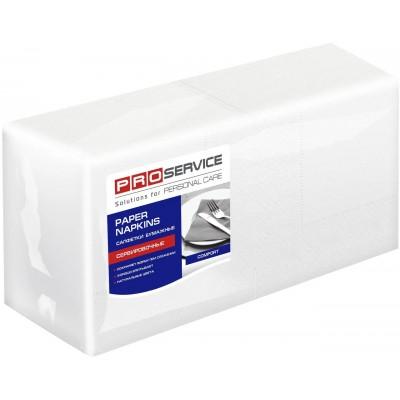 Салфетки сервировочные 24х24 двухслойные белые PROservice Comfort 200 шт