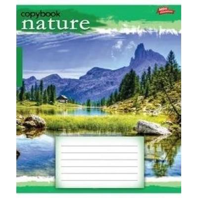 Тетрадь 18 листов линия green 2489л