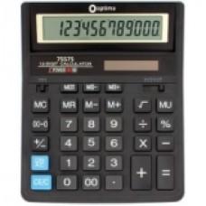Калькулятор настольный Optima, 12 разрядов, размер 203 * 158 * 30.5 мм