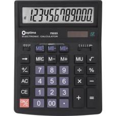 Калькулятор настольный Optima, 12 разрядный, размер 174*108*27 мм