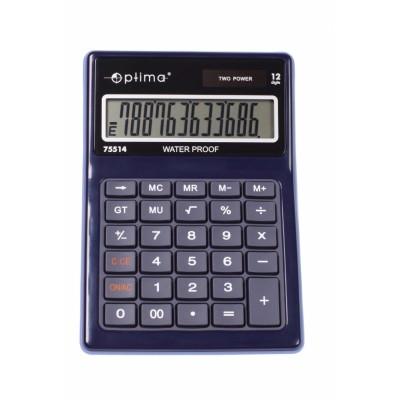 Калькулятор настольный Optima,12 разрядный, водонепроницаемый, размер 171*120*36 мм