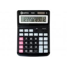 Калькулятор настольный Optima, 12 разрядов, размер 230 * 165 * 45 мм