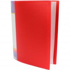 Папка А4 з 60 файлами Economix, червона