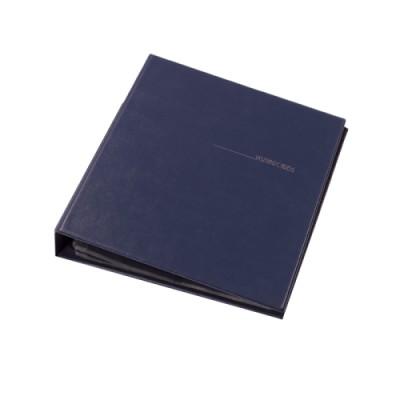 Визитница А4 на 400 визиток, синяя