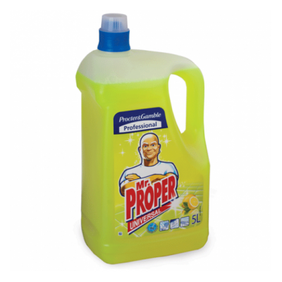 Моющее жидкое средство для пола MR PROPER 5л Лимон