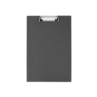 Папка-планшет А4 Economix с прижимом, ПВХ черный