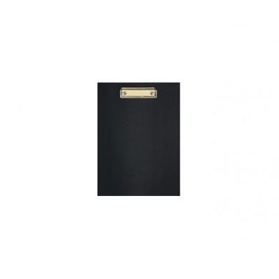 Планшет А4 Economix с прижимом, черный имеется в нал 27.11