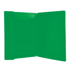Папка пластиковая А4 на резинках Jobmax, зеленый