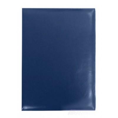 Визитница А4 на 400 визиток, темно-синяя