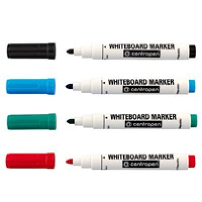 Маркер для доски Deli 2 мм (зеленый, синий, красный, черный)