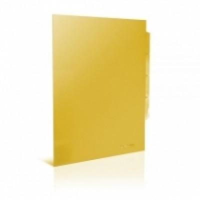 Папка уголок А4 Экономикс, 180 мкм фактура глянец, прозрачная