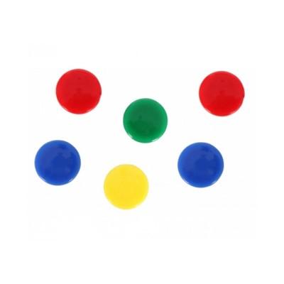 Набор магнитов Optima, 5 шт, диаметр 30 мм