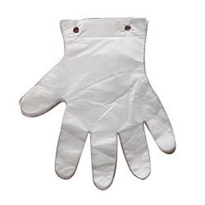 Перчатки полиэтилен с отрывом одноразовые