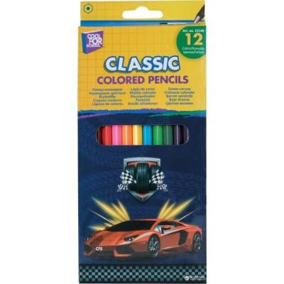"""Карандаши цветные """"Racing"""", 12 цветов"""