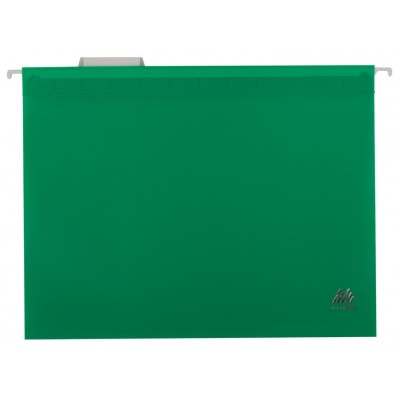 Файл подвесной А4 пластик зеленый