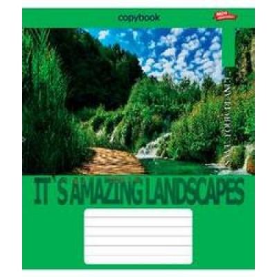 Тетрадь 36 листов клетка green 2476к