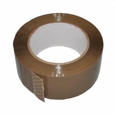Лента клейкая упаковочная (скотч) 48*100  коричневая
